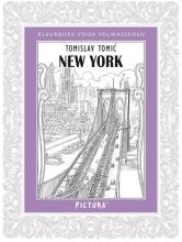 Tomislav  Tomic Kleurboek voor volwassenen - New York