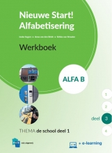 , Nieuwe Start Alfabetisering Alfa B Deel 3 + e-learning Werkboek