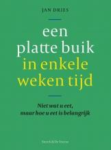 Jan Dries , Een platte buik in enkele weken tijd