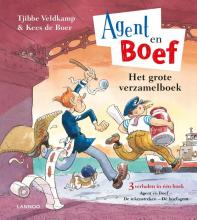 Tjibbe  Veldkamp, Kees de Boer Het grote verzamelboek van Agent en Boef