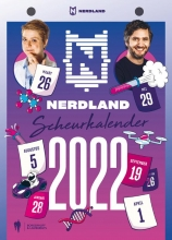 Hetty Helsmoortel Lieven Scheire, Nerdland scheurkalender 2022