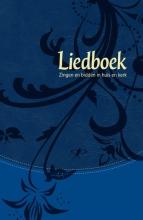 , Liedboek - blauw kunstleer