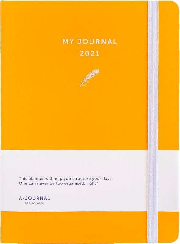 ,My Journal Agenda 2021 - Oranje