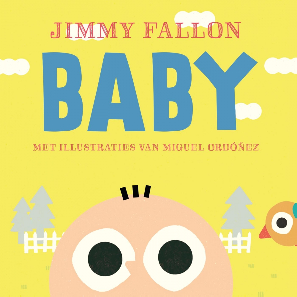 Jimmy Fallon, Miguel Ordonez,Baby (kartonboek)