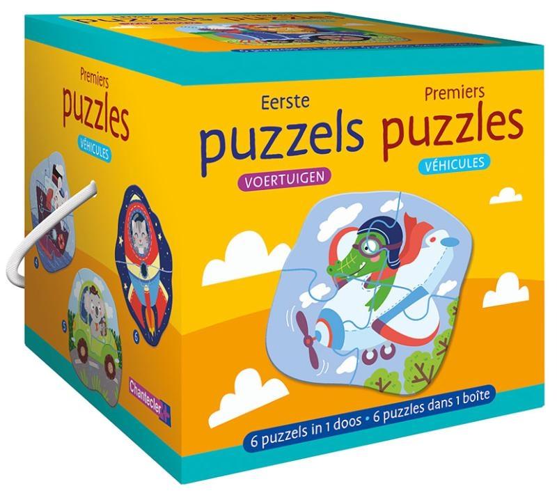 ,Eerste puzzels - voertuigen Premiers puzzles - véhicules