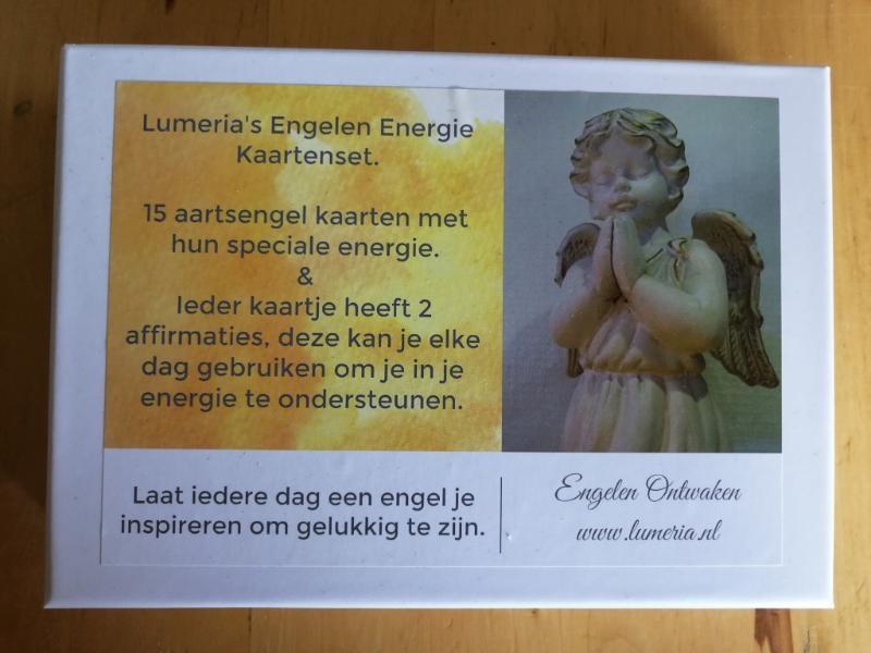 Klaske Goedhart,Lumeria`s Engelen Energie Kaartenser