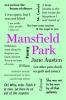Austen, Jane,Mansfield Park