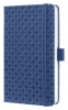 ,notitieboek Sigel Jolie Flair A6 hardcover gelinieerd       Indigo blauw