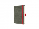,notitieboek Conceptum 194blz hard Vintage Light Grey        95x150mm gelinieerd