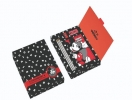 ,STATIONERY BOX (3 PENCILS, NOTEBOOK, ERASER, SHARPENER) MICKEY MOUSE