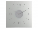 ,Wandklok Nextime 35x35 cm, frosted, `Willie`