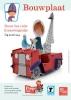 ,<b>kraanwagentje Fiep bouwplaat, Bouw het rode kraanwagentje van Fiep Westendorp 21 cm x 29,7 cm.</b>