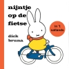 Dick  Bruna,nijntje op de fietse in `t Sallands