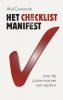 <b>A.  Gawande</b>,Het checklist-manifest