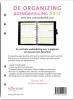 <b>Zamarra  Kok, Vivianne  Broekman</b>,De Organizing Agendavulling 2017 - A5 verticale weekindeling over 2 pagina's