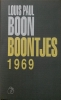 Louis Paul  Boon,Boontjes 1969
