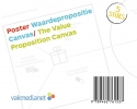 <b>Alexander  Osterwalder, Yves  Pigneur, Greg  Bernarda, Alan  Smith</b>,Poster Waardepropositie Canvas/Poster The Value Proposition Canvas