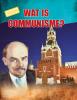 Karen Kenney ,Wat is communisme?
