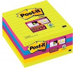 , Memoblok 3M Post-it 675 Super Sticky 10