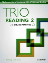 Adams, Kate Trio Reading 2 Students Book Pack