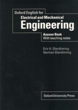 Oxford English for Electrical and Mechanical Engineering. Answer Book