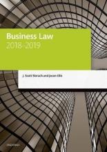 Slorach, J. Scott,   Ellis, Jason Business Law, 2018-2019