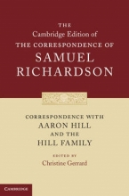 Richardson, Samuel Correspondence with Aaron Hill and the Hill Family