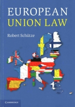 Robert Schutze European Union Law