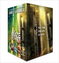 Dashner, James The Maze Runner Series Complete Collection Boxed Set