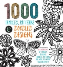 Walter Foster 1,000 Tangles, Patterns & Doodled Designs