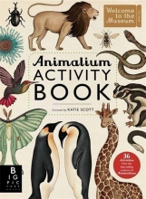 Katie,Scott Animalium Activity Book