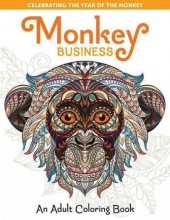 House,Press Spring Monkey Business: An Adult Coloring Book
