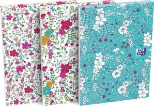 , Oxford notitieboek floral a6