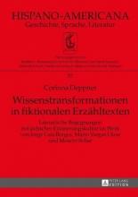 Deppner, Corinna Wissenstransformationen in fiktionalen Erzähltexten