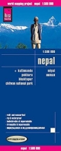 Reise Know-How Verlag , Reise Know-How Landkarte Nepal 1 : 500 000