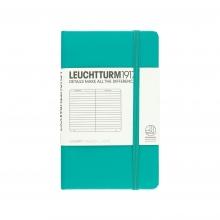 Lt344786 , Leuchtturm notitieboek pocket 90x150 lijn emerald green