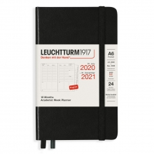 , Leuchtturm weekagenda  pocket kolom 18 mnd 2020-2021 a5