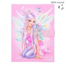 , Fantasymodel dagboek met geheime code fairy