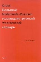 A.H. van den Baar , Groot Nederlands-Russisch Woordenboek