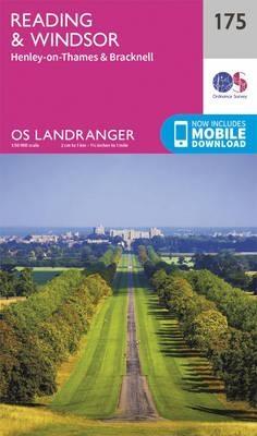 Ordnance Survey,Reading, Windsor, Henley-on-Thames & Bracknell