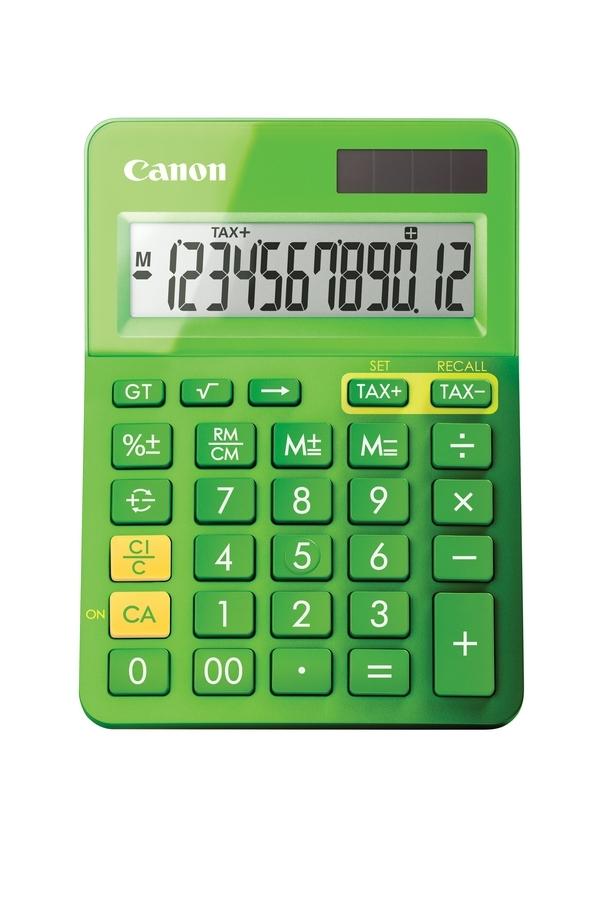 ,Rekenmachine Canon LS-123K groen