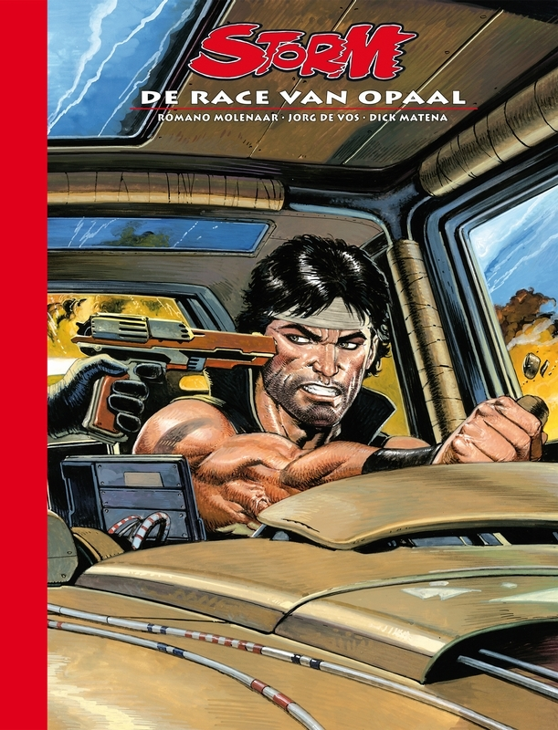 Dick Matena, Jorg de Vos, Romano Molenaar,Storm 28 De race van Opaal
