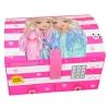 <b>0010543 a</b>,Topmodel sieradendoos met code - rose 2 blonde meiden