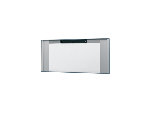,wandbord Sigel akoestiek donkergrijs, 800x400x65 mm