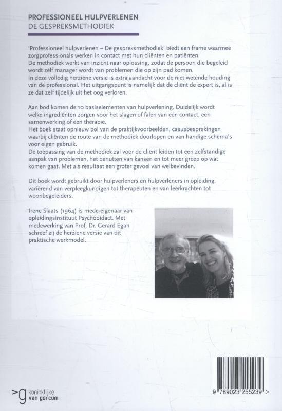 Irene Slaats,Professioneel hulpverlenen