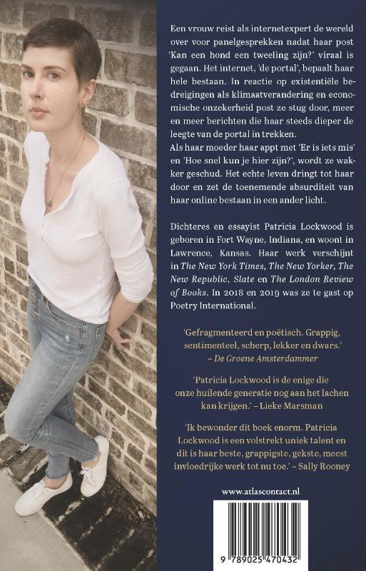 Patricia Lockwood,Hier hoor je niemand over