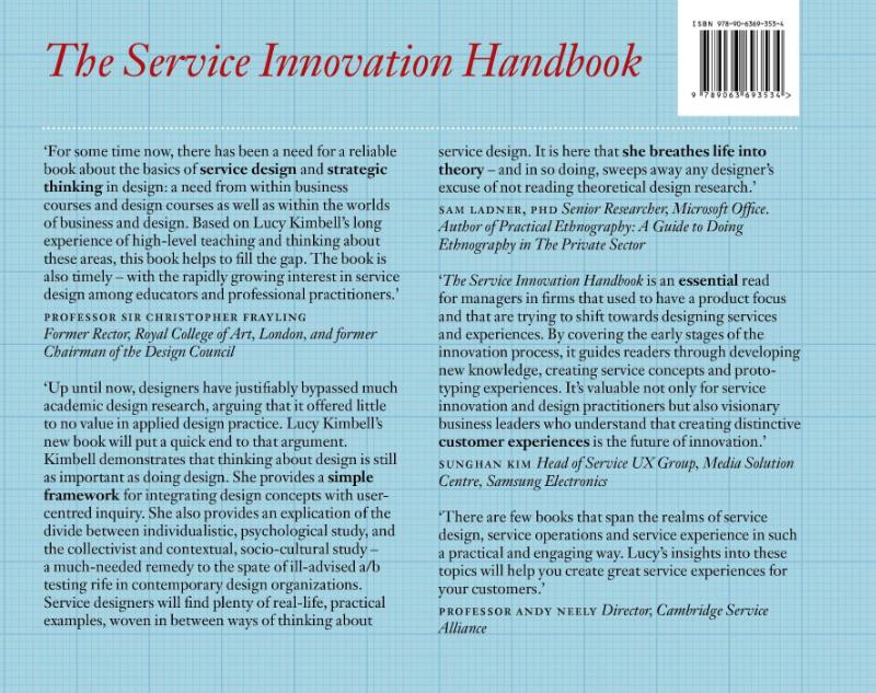 Lucy Kimbell,The service innovation handbook