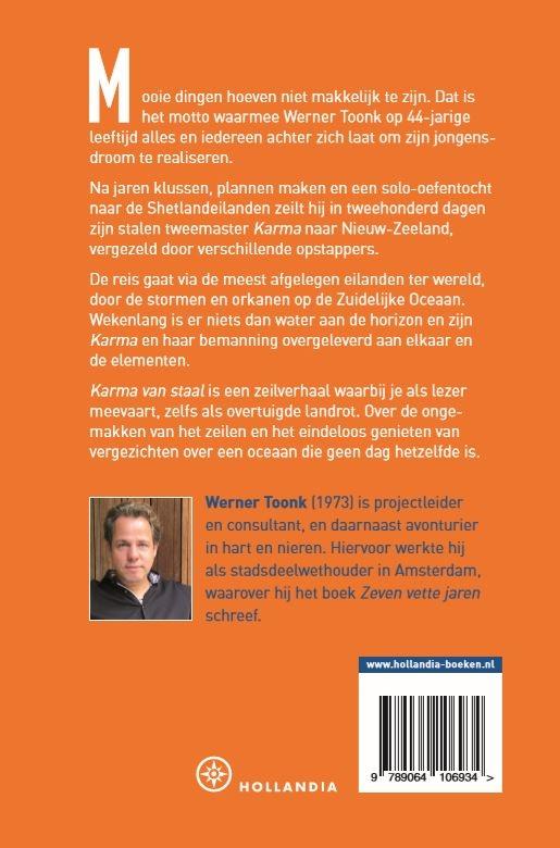 Werner Toonk,Karma van staal