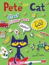 James Dean Pete the Cat Giant Sticker Book