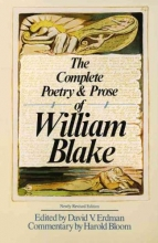 Blake, William The Complete Poetry and Prose of William Blake